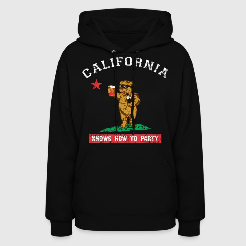 Young California Knows To Party - Women's Hoodie