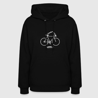 Simple Mountain Bike - Women's Hoodie