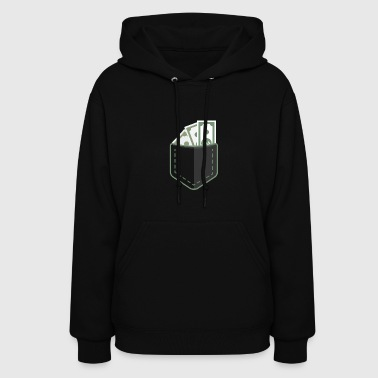 Cash Money Pocket - Women's Hoodie