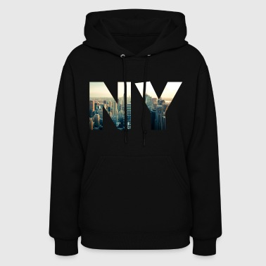 NY for NEW YORK - Women's Hoodie