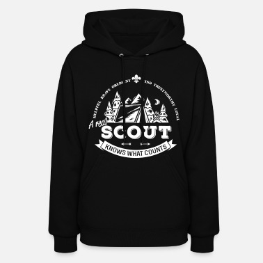 Scout A real scout knows what counts - Women's Hoodie