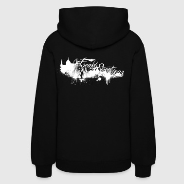 Freaky Streetwear MG Label white - Women's Hoodie
