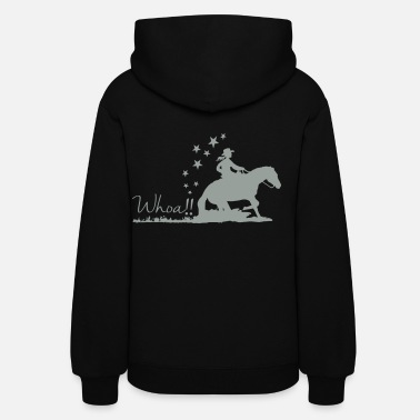 Horse Cowgirl - Western riding - Women's Hoodie