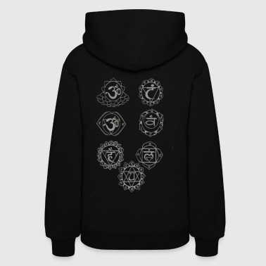 A3+dtg+chakra+grey+proof - Women's Hoodie