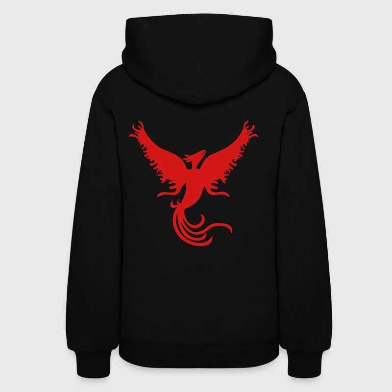 Phoenix - The Famous Flame Winged Free Bird - Women's Hoodie