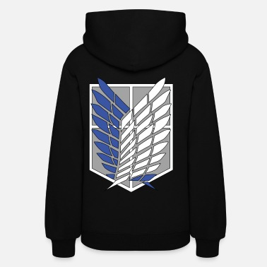 Manga Recon Corps Attack on Titan - Women's Hoodie
