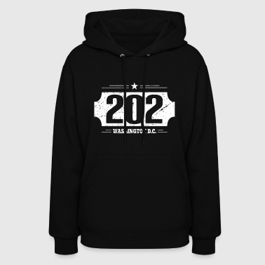202 Washington D.C. area code - T-Shirt - Women's Hoodie
