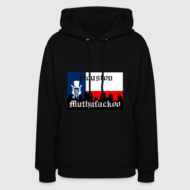 Houston Muthafackoo Flag - Women's Hoodie