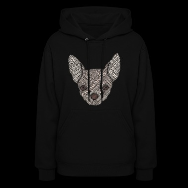 Chihuahua Word Cloud - Women's Hoodie