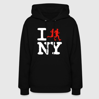 NYC I run New -York urban hip-hop Tee Shirt - Women's Hoodie