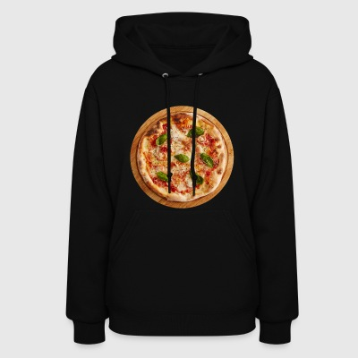 pizza margherita pizzeria food essen - Women's Hoodie