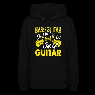 Bass Guitar Tee Shirt - Women's Hoodie