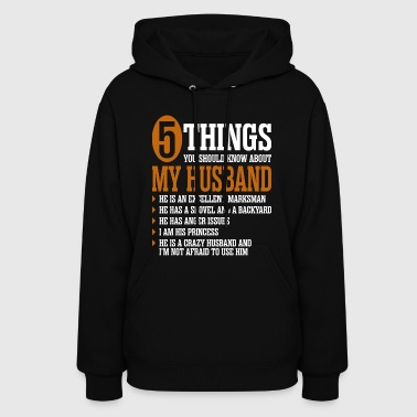 5 Things About My Husband - Women's Hoodie