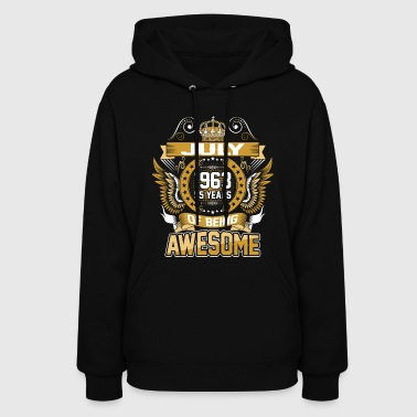 July 1963 55 Years Of Being Awesome - Women's Hoodie