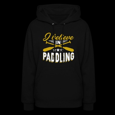 Paddle Board Tee Shirt - Women's Hoodie