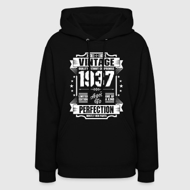 Vintage 1937 Perfection - Women's Hoodie