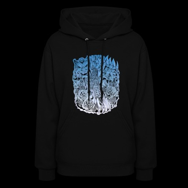 Comedy tragedy - Women's Hoodie