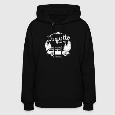 Duquette Family Vacation 2017 White Ink - Women's Hoodie