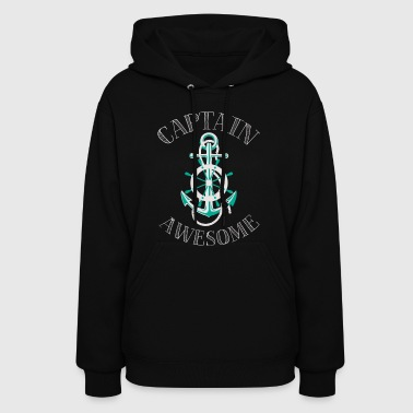 Captain Awesome - Women's Hoodie