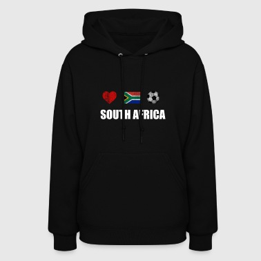 South Africa Football Shirt - South Africa Soccer - Women's Hoodie