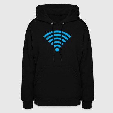 Basement Mastermind Wifi Signal Strength - Women's Hoodie