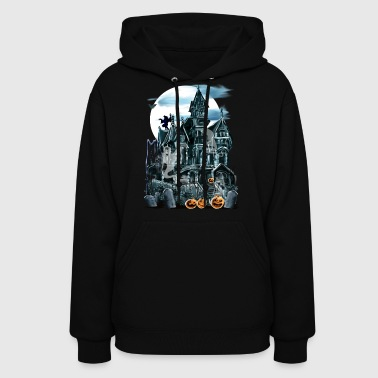 Haunted House  - Women's Hoodie