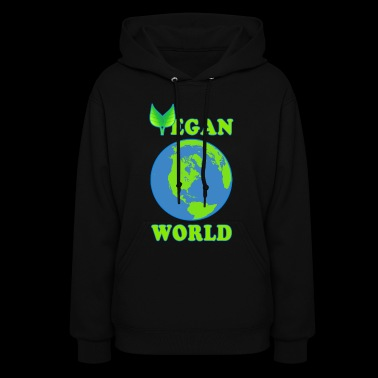 Vegan World - Women's Hoodie