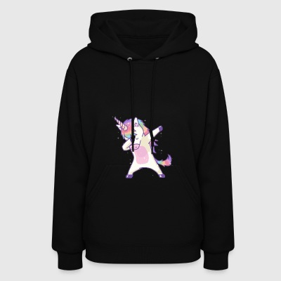 Dabbing Unicorn Dab Hip Hop Magic Girl Clothes - Women's Hoodie