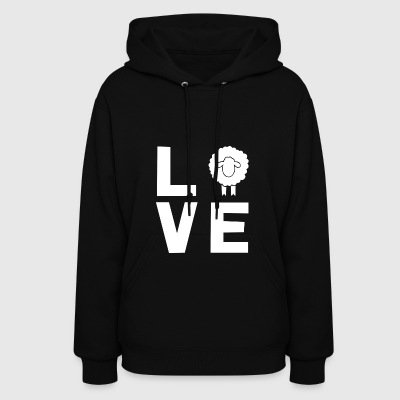 Love Sheep Statement - Women's Hoodie