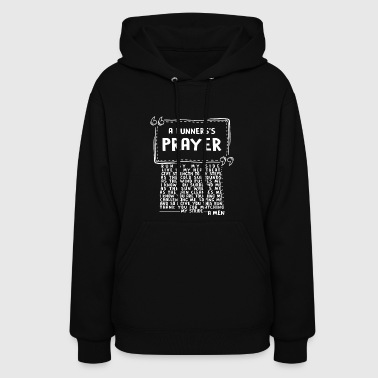 This Is A Runner's Prayer T Shirt - Women's Hoodie