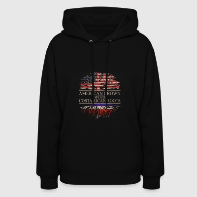 American grown with costa rican roots - Women's Hoodie