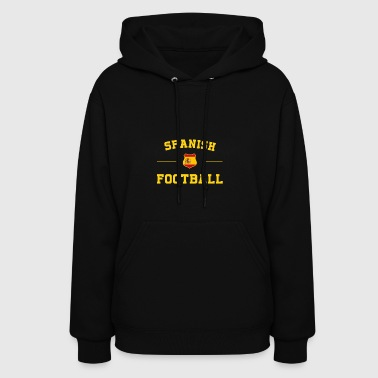Spanish Football Shirt - Spanish Soccer Jersey - Women's Hoodie