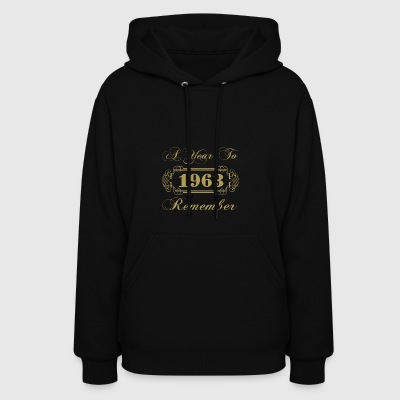 1963 A Year To Remember - Women's Hoodie