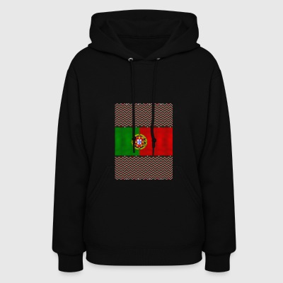 Portuguese Ugly Christmas Sweater - Women's Hoodie