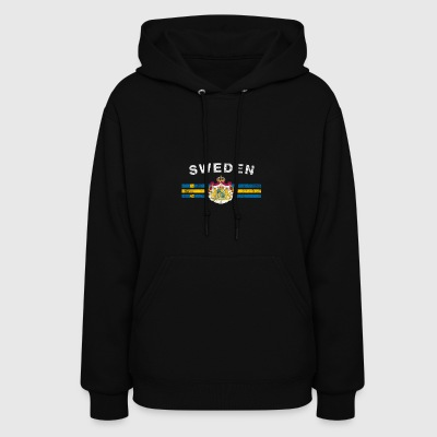 Swede Flag Shirt - Swede Emblem & Sweden Flag Shir - Women's Hoodie