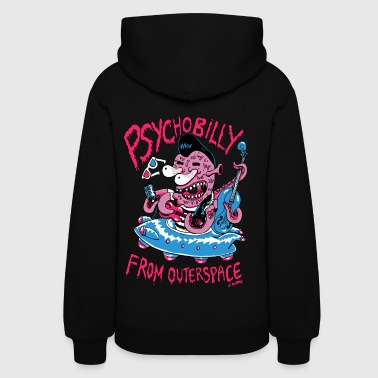 psychobilly from outerspace - Women's Hoodie