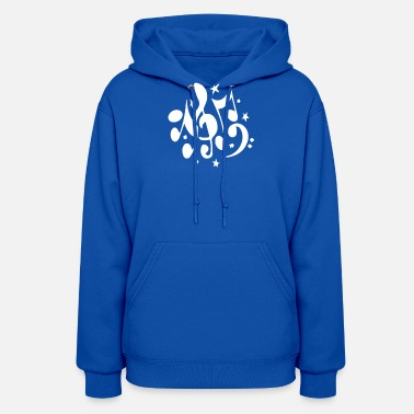 Note Music Notes - Women's Hoodie