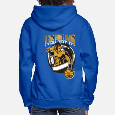 Muscle Fighter and Muscles - Women's Hoodie