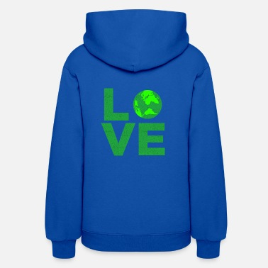 Planet Earth Earth Day Earthday Climate Environmental - Women's Hoodie