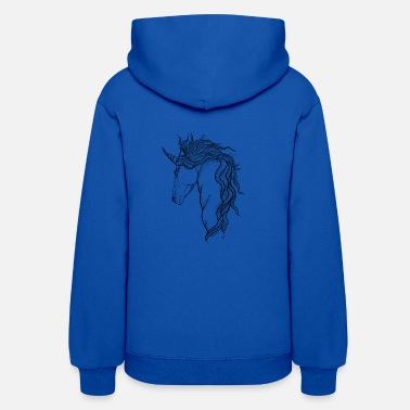 Mythical Creature A mythical Unicorn - Women's Hoodie