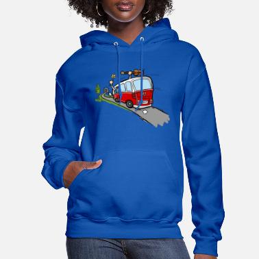 Occassionally Oh Hippie Day Van - Women's Hoodie