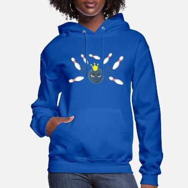 Funny Bowling Funny Bowling - Women's Hoodie