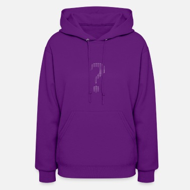 Question Mark Question marks and exclamation marks - Women's Hoodie