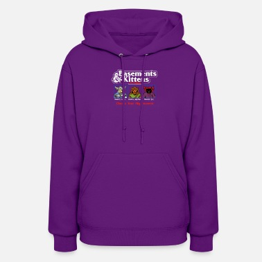 Basement Basements and Kittens - Women's Hoodie