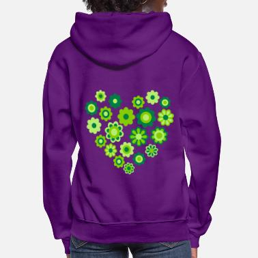 Blossom Heart by Cheerful Madness!! - Women's Hoodie