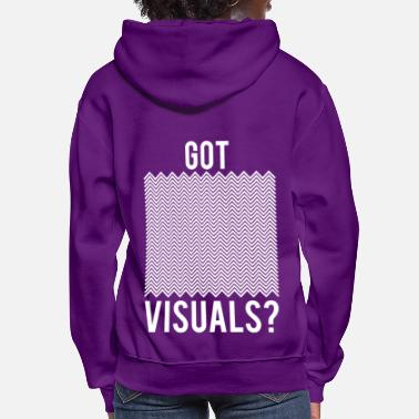 Visual Illusionist Magic Funny Got Visuals Optical Illusion Magician gift - Women's Hoodie