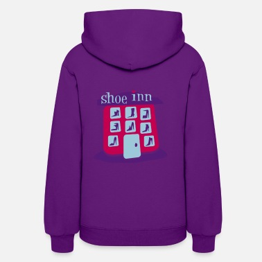 Shoe Shoe Inn With Shoes And Boots - Women's Hoodie