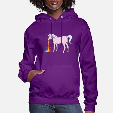 Funny Inappropriate Unicorn - Women's Hoodie