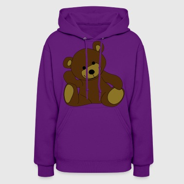 Teddy, Teddy Bear, stuffed animal - Women's Hoodie