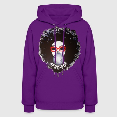 Afro pop_Global Couture Accessories - Women's Hoodie